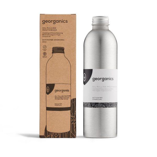 Elixir Bucal Georganics – Carvão Ativado 275ml