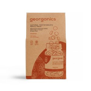 Pastilhas Dentífricas Georganics - Laranja Refill