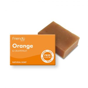 friendly soap laranja toranja