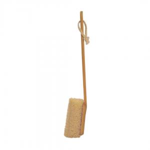 luffa de banho com cabo removível