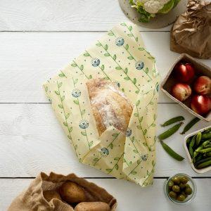 food wrap orgânico vegan extra grande