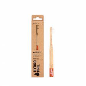 escova de dentes bambu criança