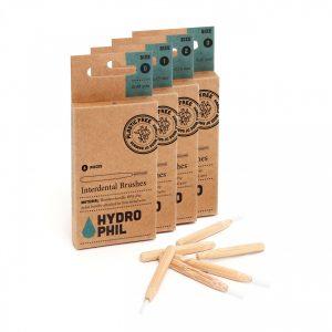 escovilhões interdentários em bambu hydrophil