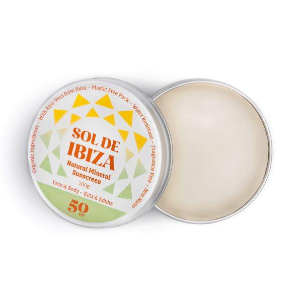 Protetor Solar Sol de Ibiza SPF 50